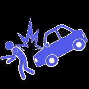 交通事故イラスト 歩行者